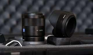 Sony Zeiss 55mm F1.8 Lens