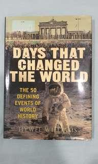 Historical book - Days that changed the world  #MFEB20