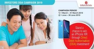 Invest & Win Campaign 2019