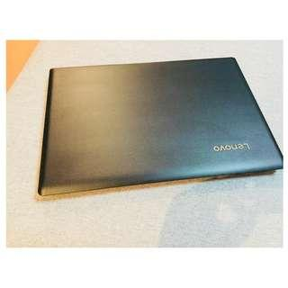Lenovo Large Wide Screen Laptop Notebook 15.6 Inch Leather Liked Frame Design Black LENOVO IDEAPAD 110-15IBR Like New