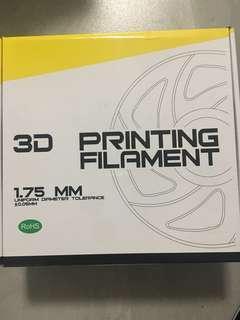 3D printing filament PLA Fluorescent yellow 1.75MM (polylactic acid)