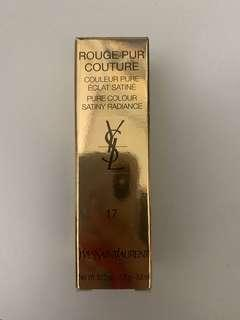 YSL Rouge Pur Couture no.17