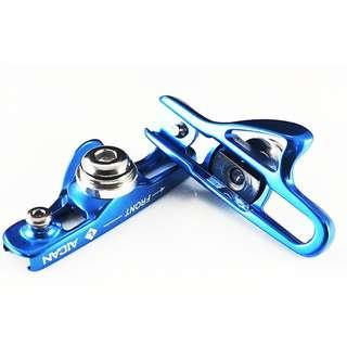 AICAN Ultralight & Slim Anode Road Bike Caliper Brake Shoes - Blue