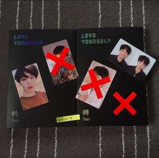 [ WTS ] BTS LY: Tear Album