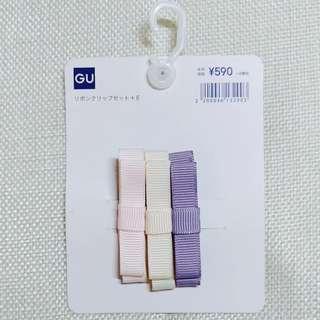 GU Japan Kids - Hair clips