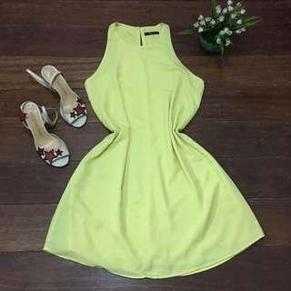Mango Basic Halter Dress