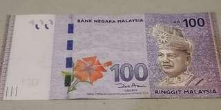 🚚 RM 100 Replacement notes ZB with radar number