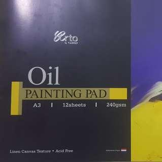 A3 Oil Painting Pad (6 sheets left)