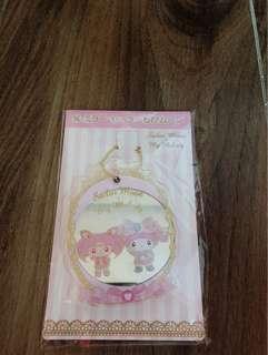 Sanrio my melody sailor moon collection mirror keychain