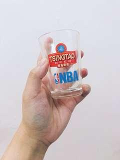 NBA X Tsing Tao Beer glass 青島啤酒杯