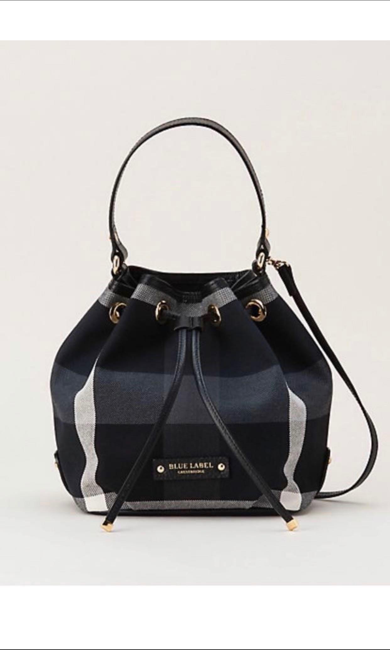 6501375698c4 [ Pending ] Burberry Blue Label Crestbridge Bucket Bag, Luxury, Bags &  Wallets, Handbags on Carousell