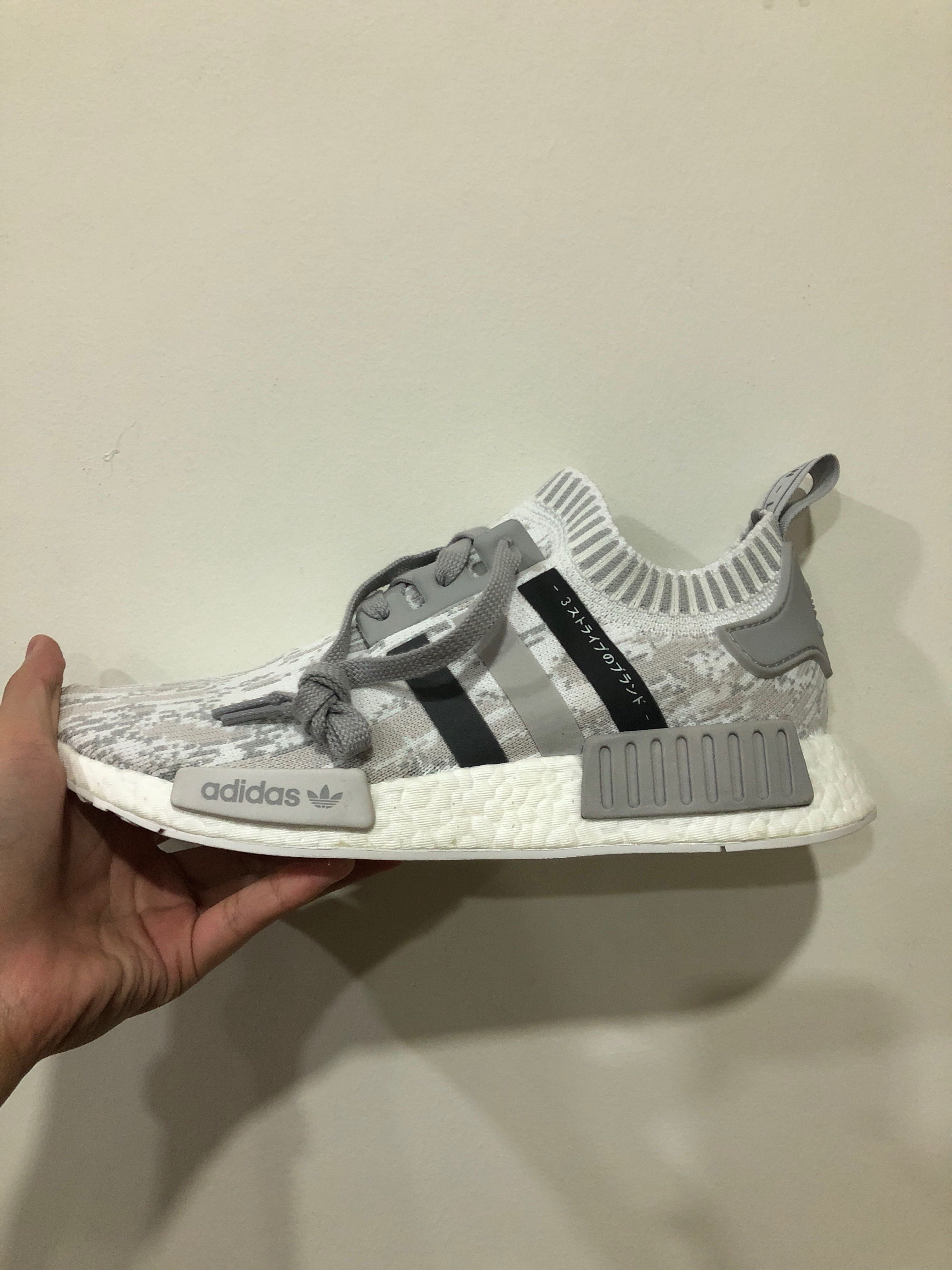 f7ffecdab Adidas NMD PK R1 Japan Triple Grey UK8 US8.5