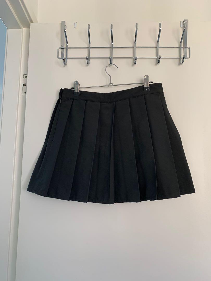 Adidas Originals Pleated Skirt Black