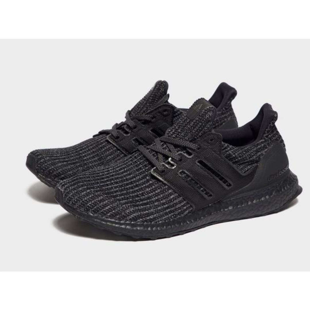 8476898ab653d Adidas Ultra Boost 4.0 Triple Black - Used US10.5