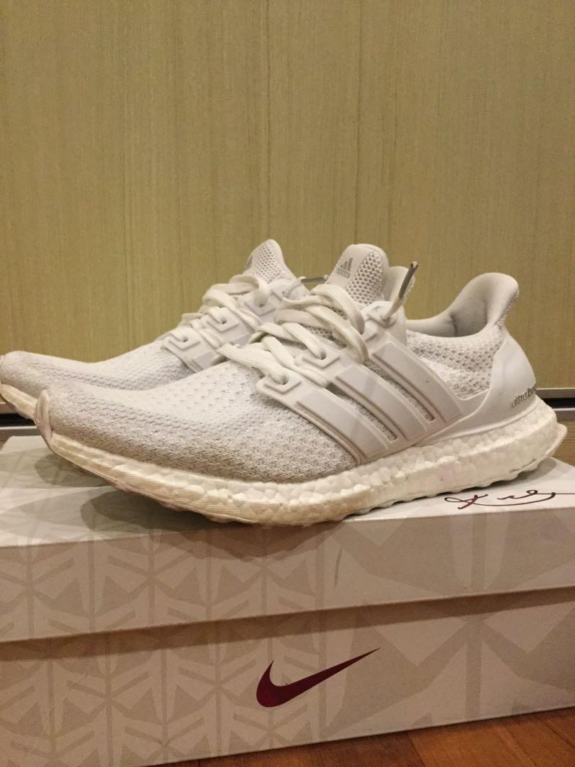 premium selection c33bf 25738 Adidas ultraboost 2.0 triple white
