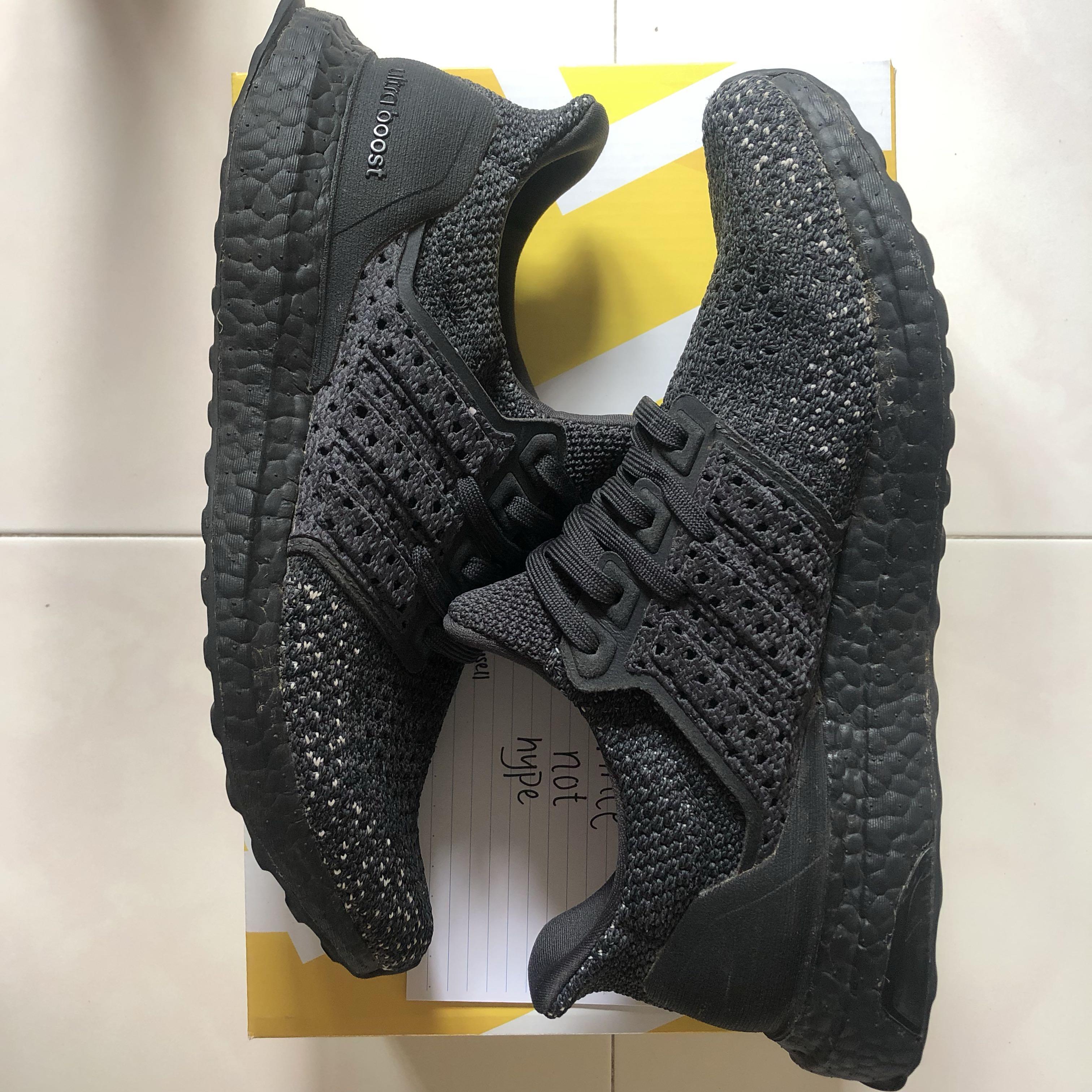 360b7c1b1dcd0 Adidas Ultraboost Clima Triple Black US 8