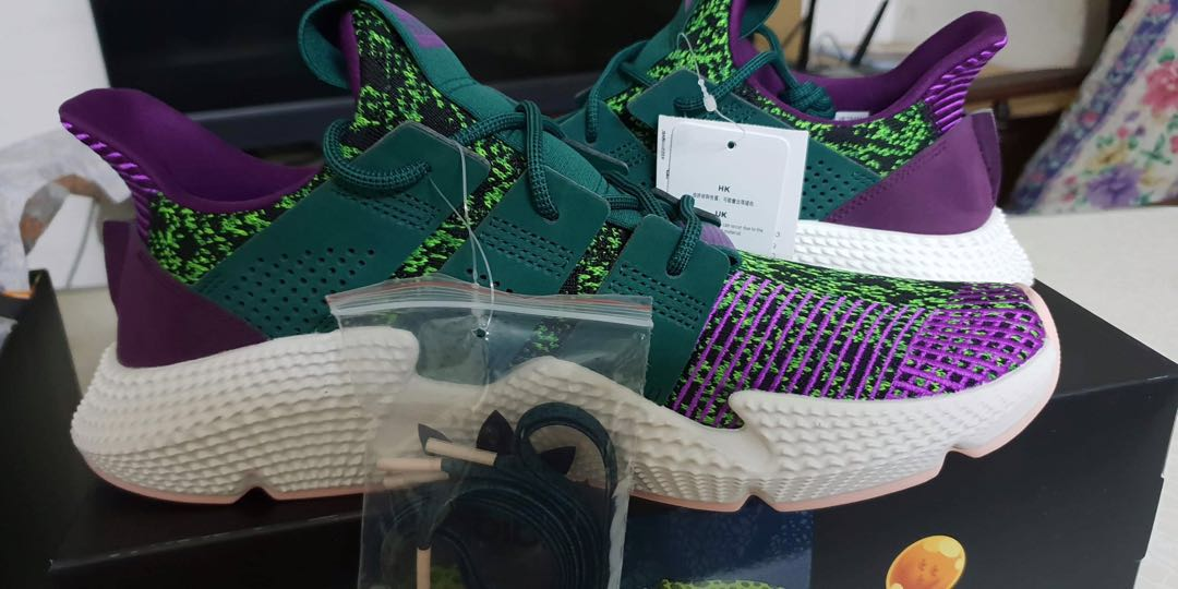best sneakers d6720 e5e33 Adidas x Dragon Ball Z Cell Prophere, Mens Fashion, Footwear, Sneakers on  Carousell