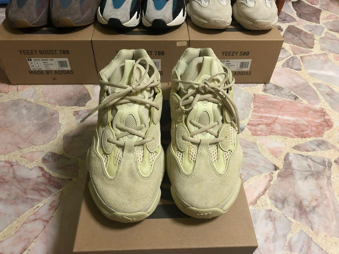 separation shoes 7c4d2 e7f78 Adidas Yeezy 500 Super Moon Yellow, Men's Fashion, Footwear ...