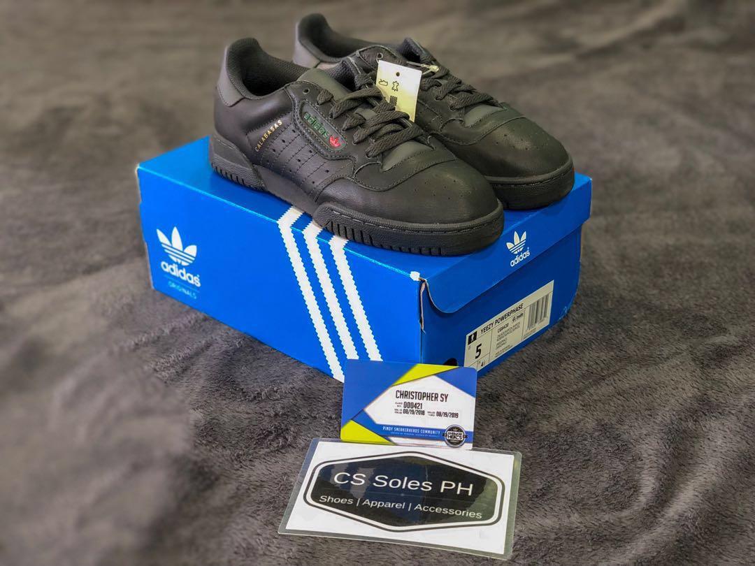 46cb0edb Adidas Yeezy Powerphase Calabasas core Black, Men's Fashion ...