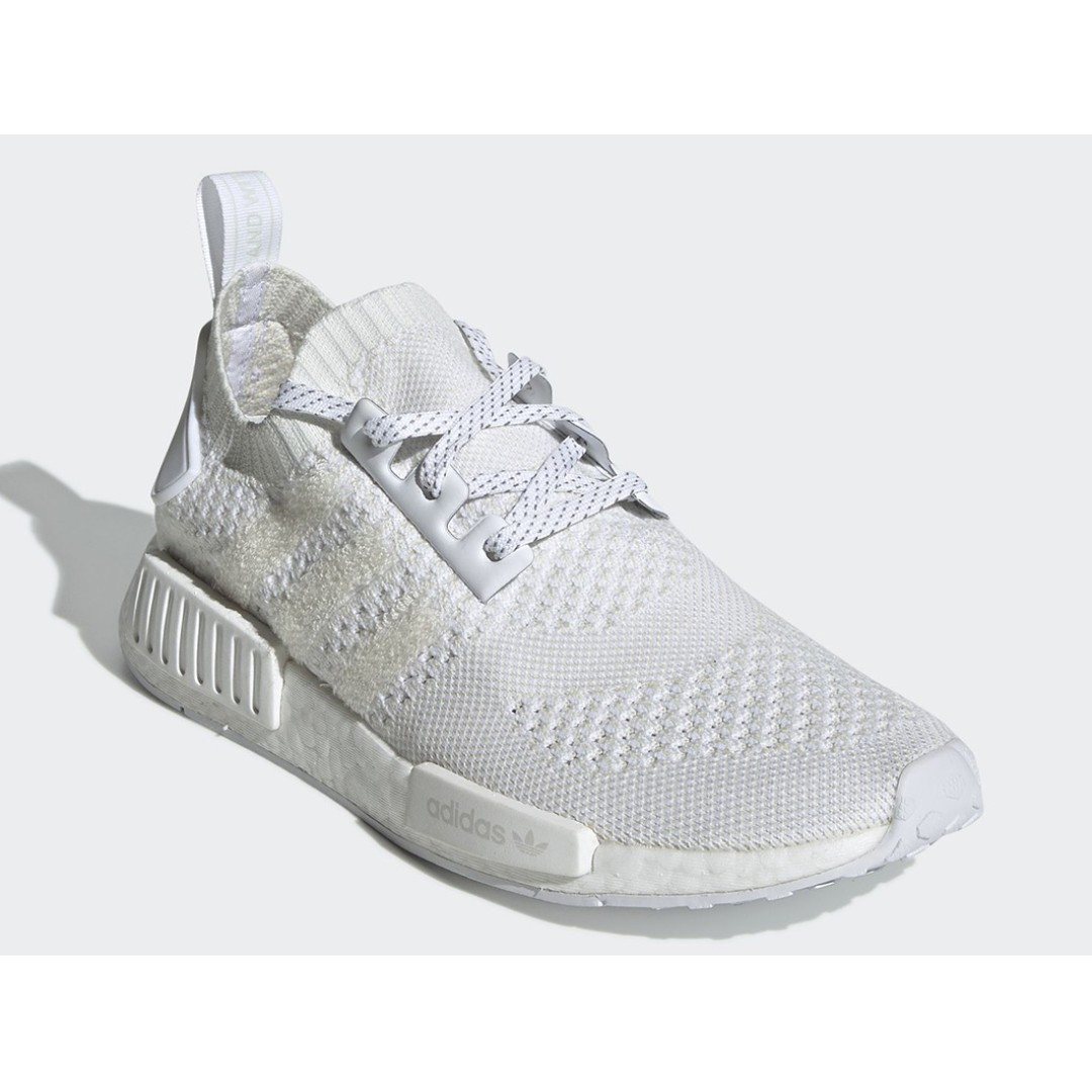 00ff6fedd Authentic Adidas NMD R1 Triple White