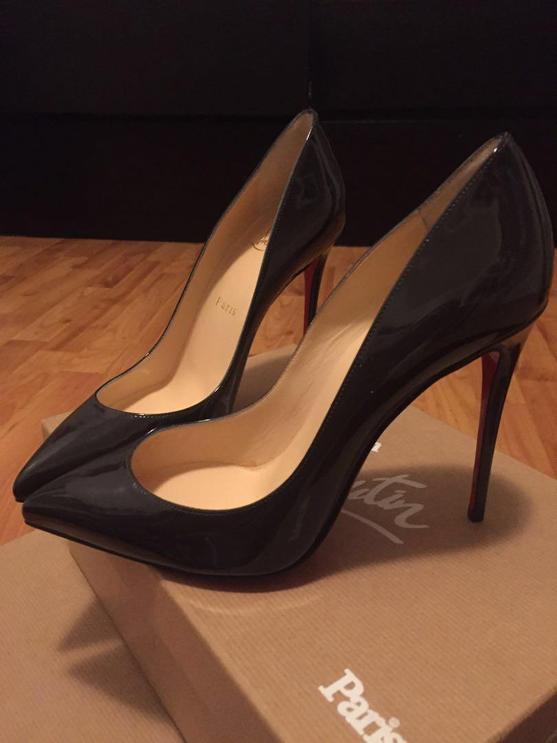 *AUTHENTIC* Christian Louboutin - Pigalle Follies 100 Patent