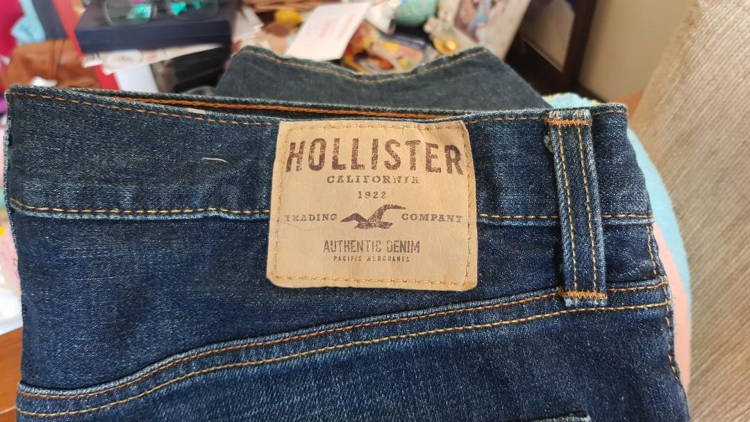 Authentic Hollister Slim Straight Jeans Men