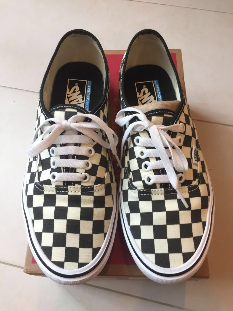 cae74009533 Authentic💯 Vans Authentic Lite Checkerboard Sneakers