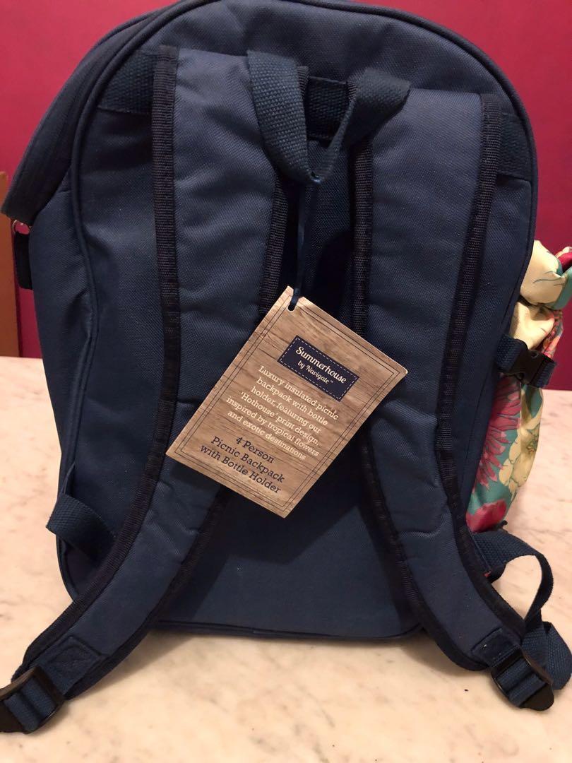 Backpack with bottle holder - Picnic for 4
