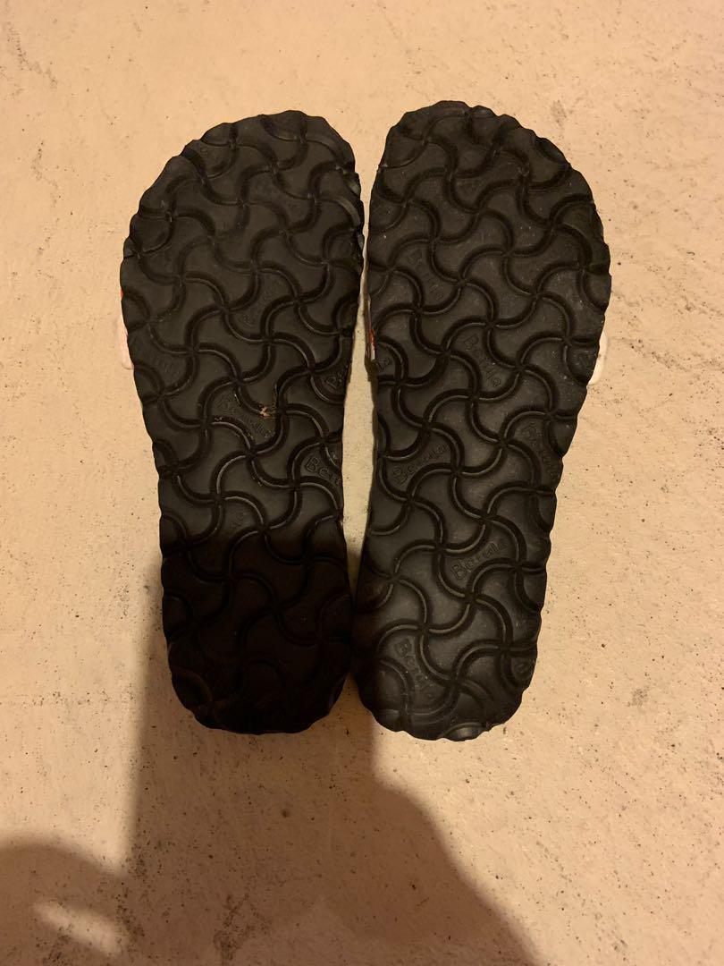 Betula flip flops. Worn once. Size 7. Super light weight and comfortable