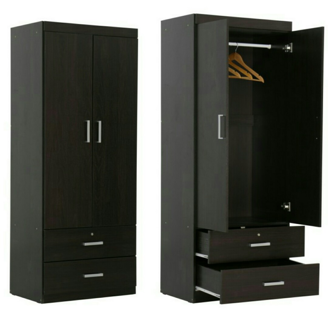Bn Free Delivery Wardrobe Closet Furniture Shelves Drawers On