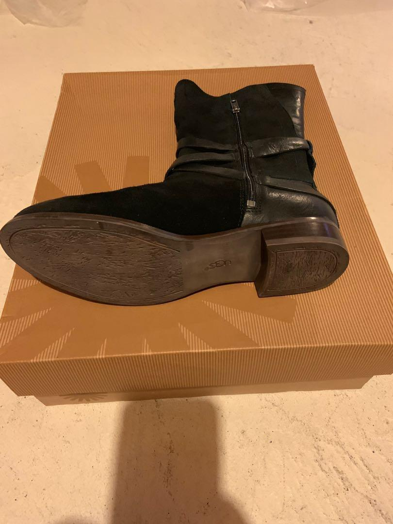 Brand new in box black suede uggs. Retails for $280. Size 7.5