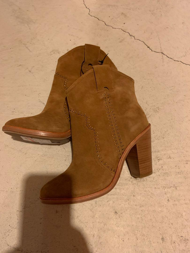 Brand new Joie suede booties. Size 7.5. Retails for $400+