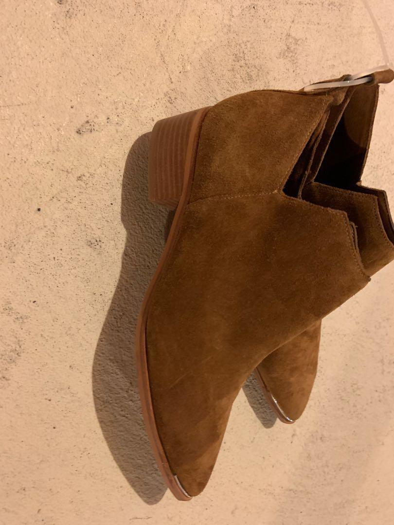 Brand new Marc Fisher suede booties. Retails for $278. Size 8
