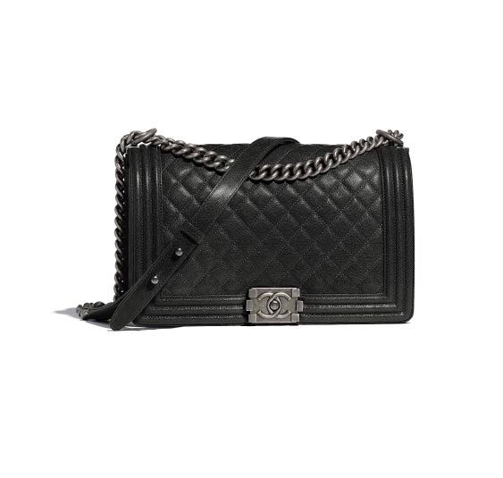 a61f8f27f90a Chanel Boy Large Bag (New Medium), Luxury, Bags & Wallets, Handbags ...