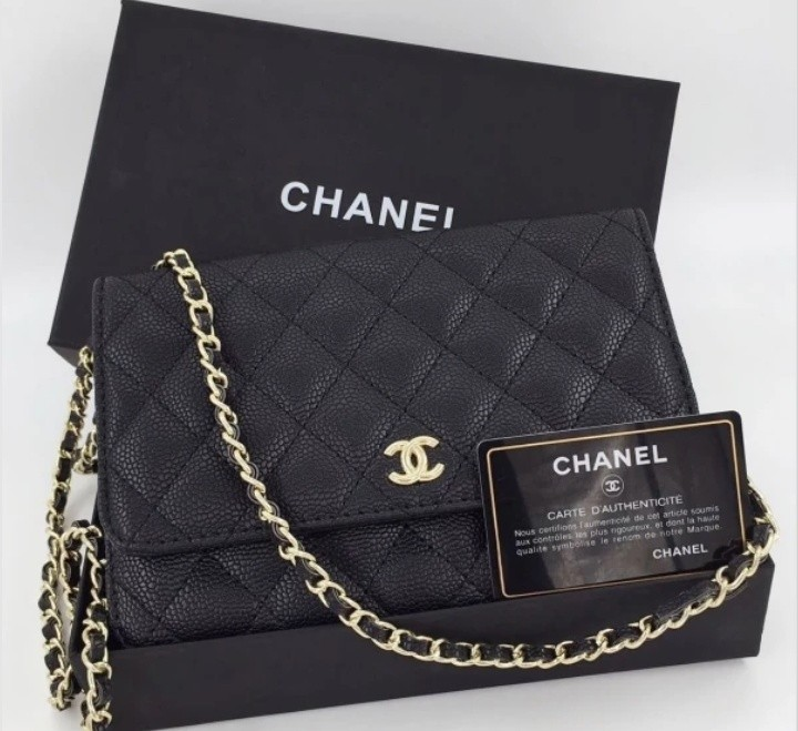 94cf557b87f5 chanel woc, Luxury, Bags & Wallets, Sling Bags on Carousell