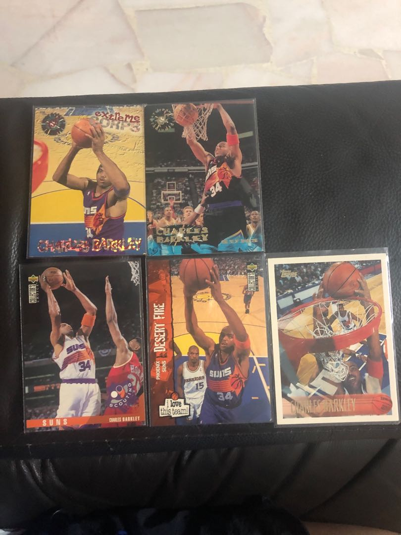 d674174c8 Charles Barkley Basketball Card Lot