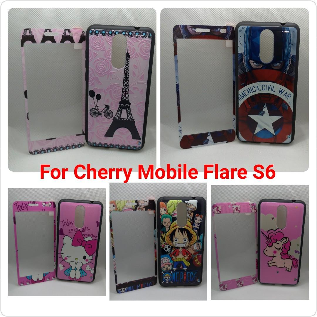online store 4552a 2cf89 Cherry Mobile Flare S6 Case W/Tempered Glass on Carousell