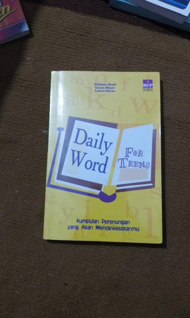 Daily Word for Teens