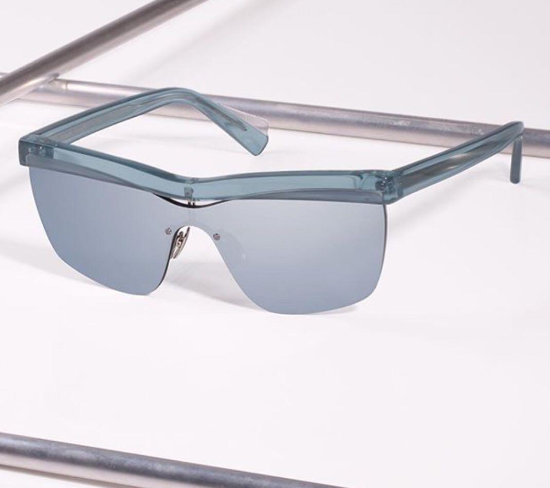 Dion Lee Eyewear Sunglasses 'Shadow' NEW Dusty Sky ❤️ Sold Out Colour