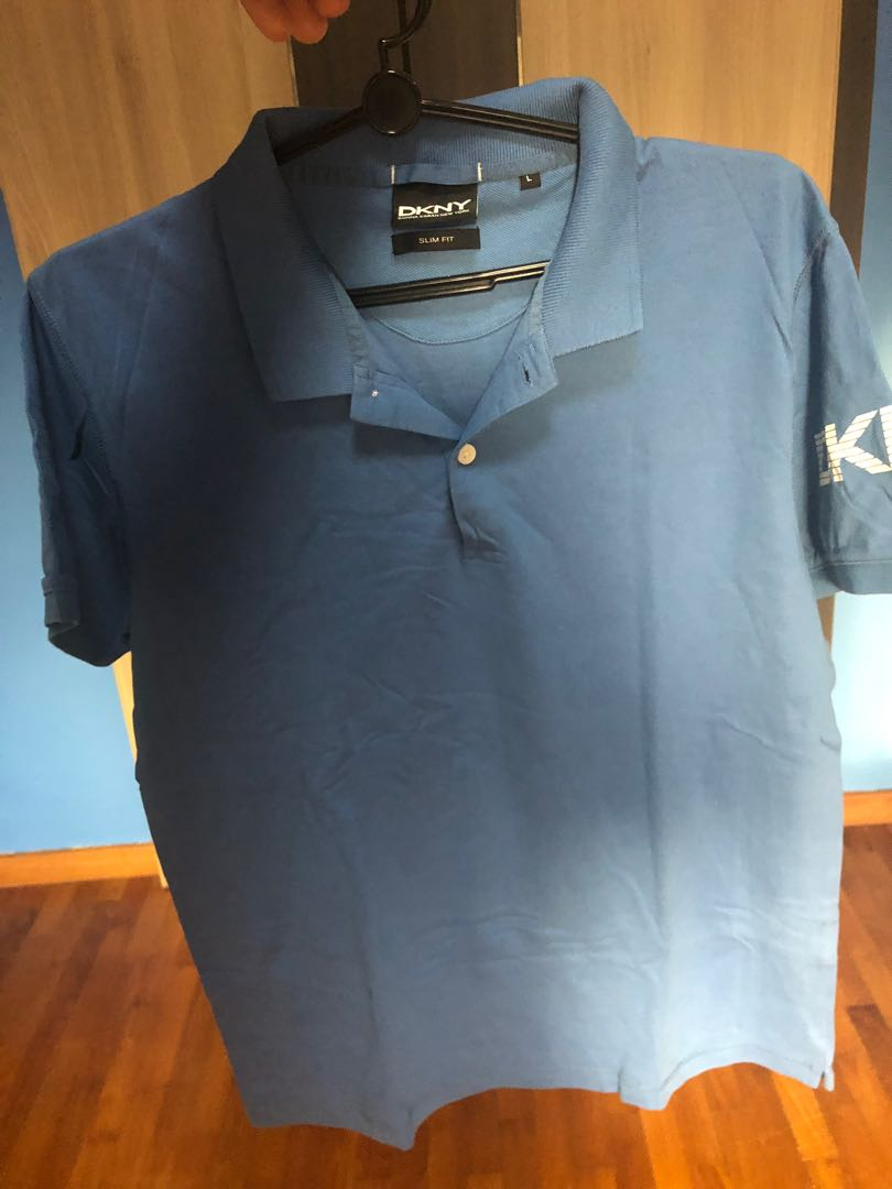 3bc29e61 DKNY Polo T, Men's Fashion, Clothes, Tops on Carousell