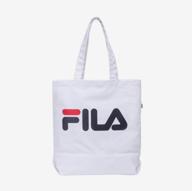 121d89769d82 FILA TOTE BAG Instock (White)