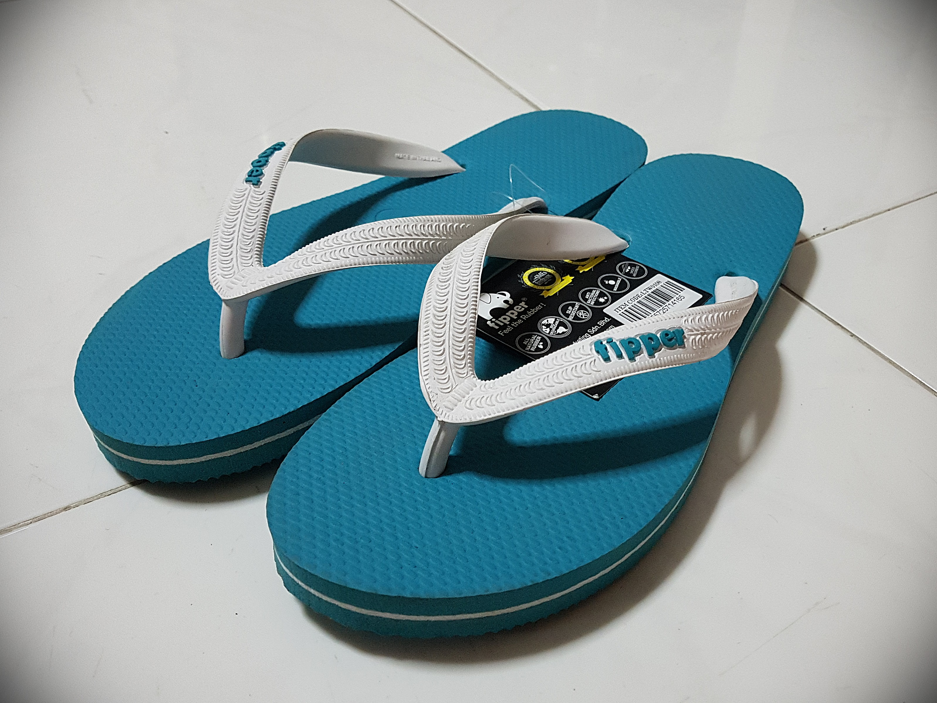0477ee8a7803 Brand New Fipper Slippers! (Cerulean Blue