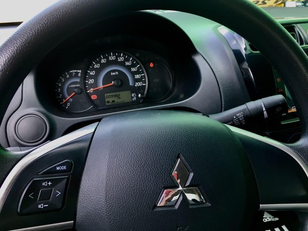 For sale : 2017 Mitsubishi Mirage G4 GLX (upgraded variant) MT