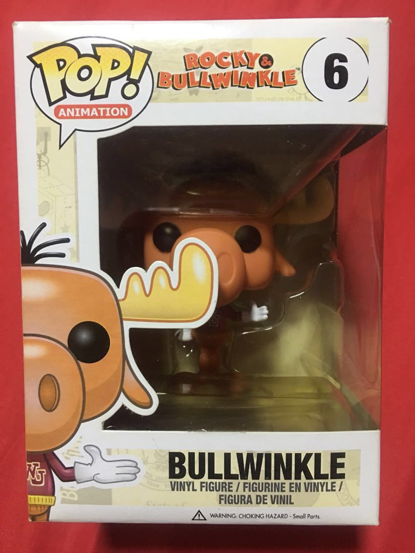 Funko Pop Rocky Bullwinkle Bullwinkle Pop Vinyl Figure Toys