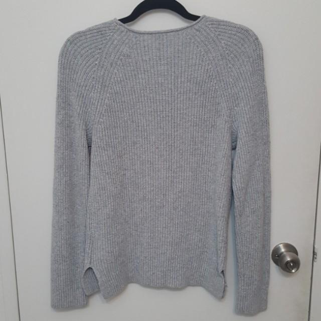 Gap Rib Knit Sweater