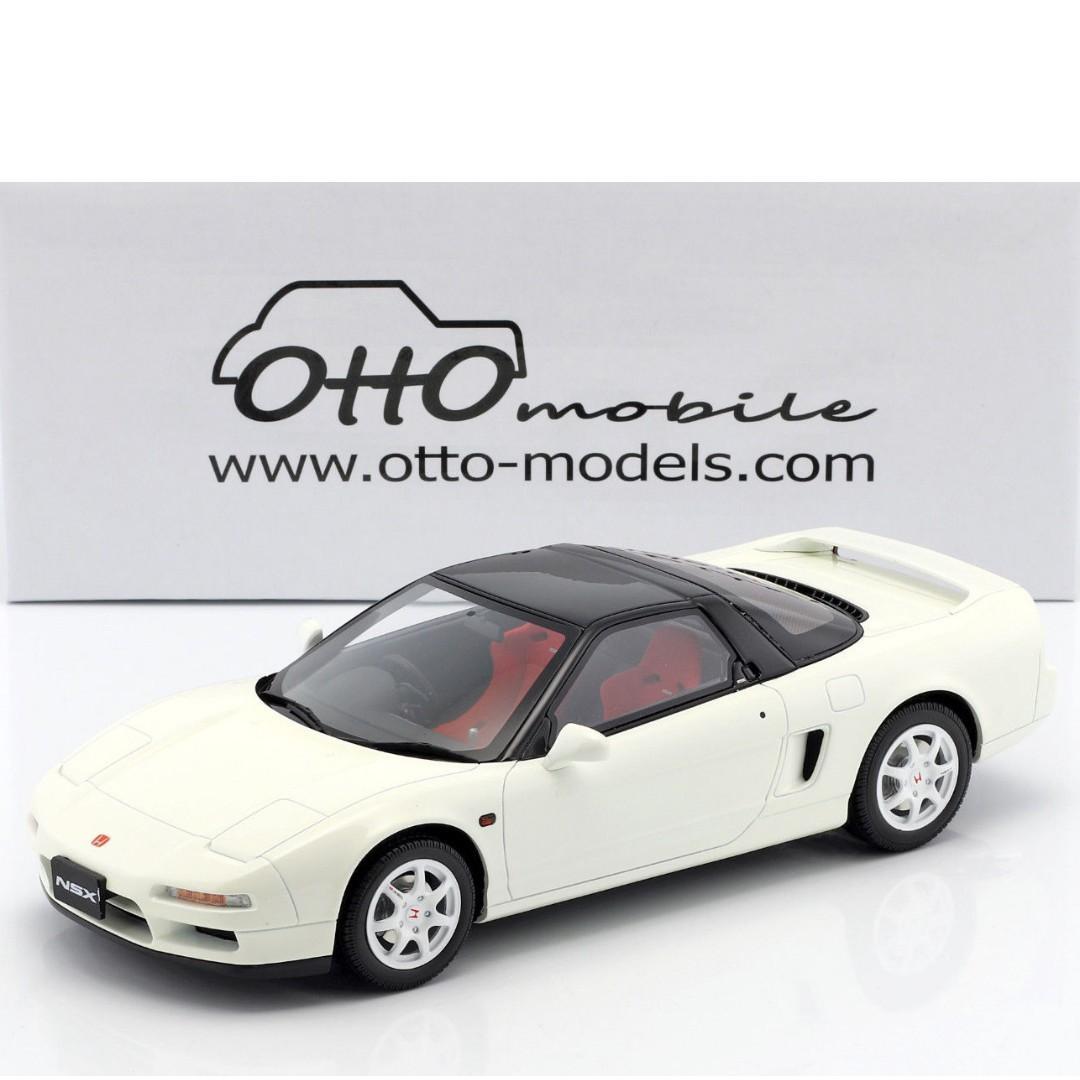 Honda Nsx R Type R Championship White Resin Model Car Otto 1 18 Toys Games Bricks Figurines On Carousell
