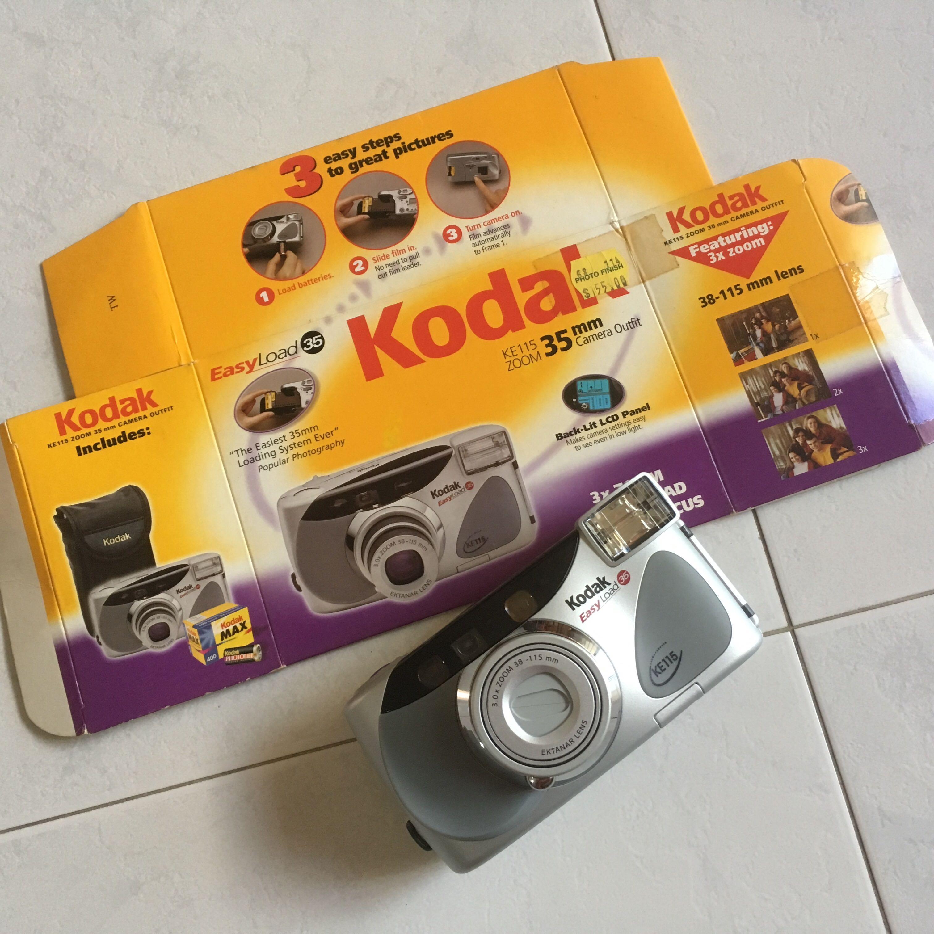 Kodak KE115 35mm Film Camera