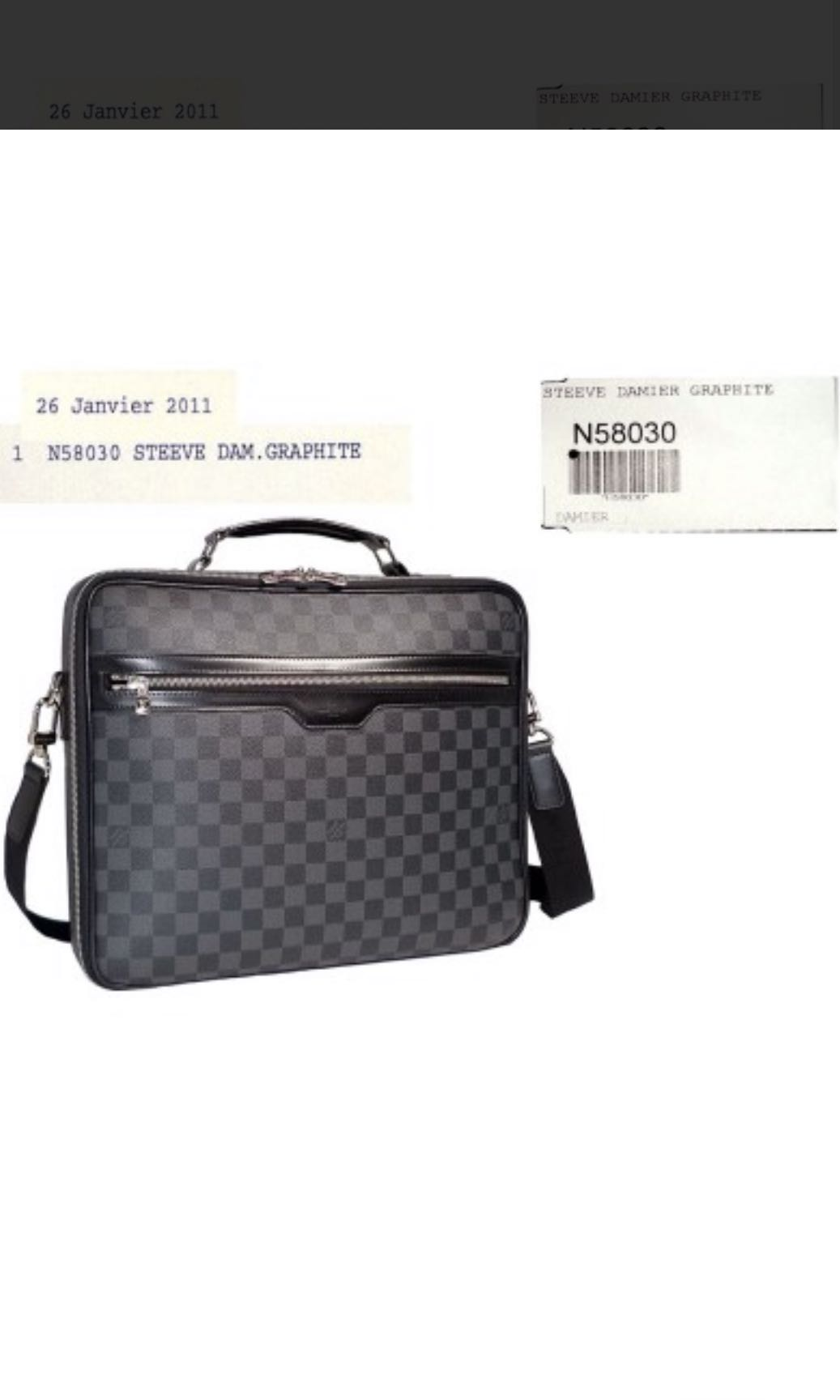 5916f55c23dc Louis vuitton steeve damier