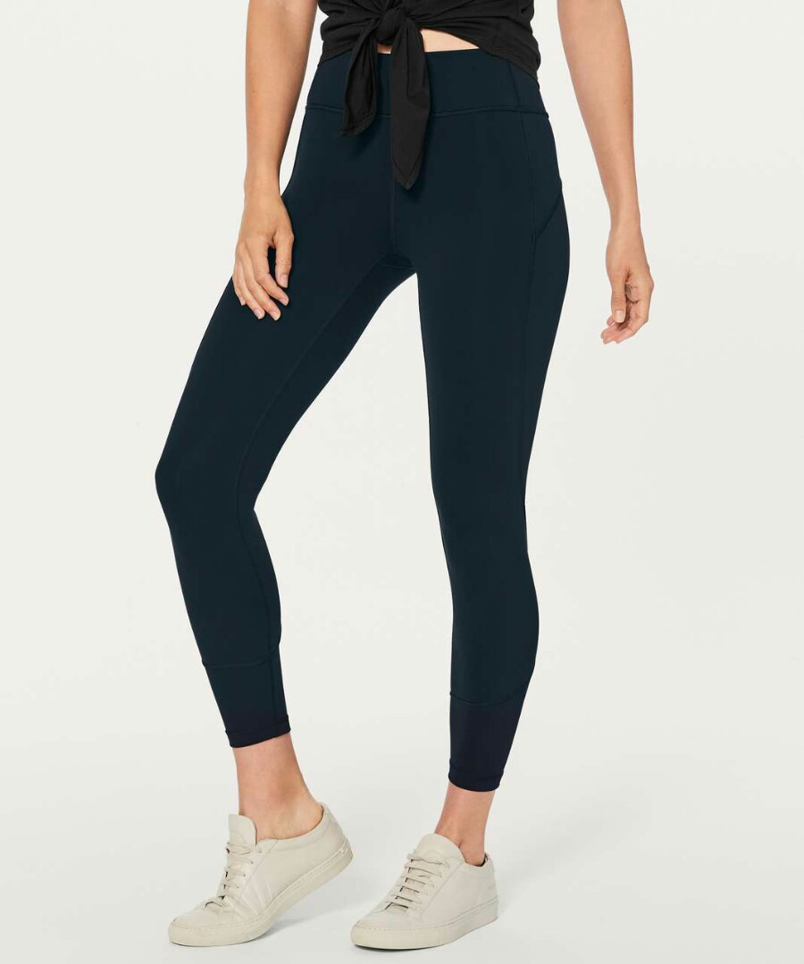 2902049bf0ccc Lululemon In Movement 7/8 Tights, Sports, Sports Apparel on Carousell