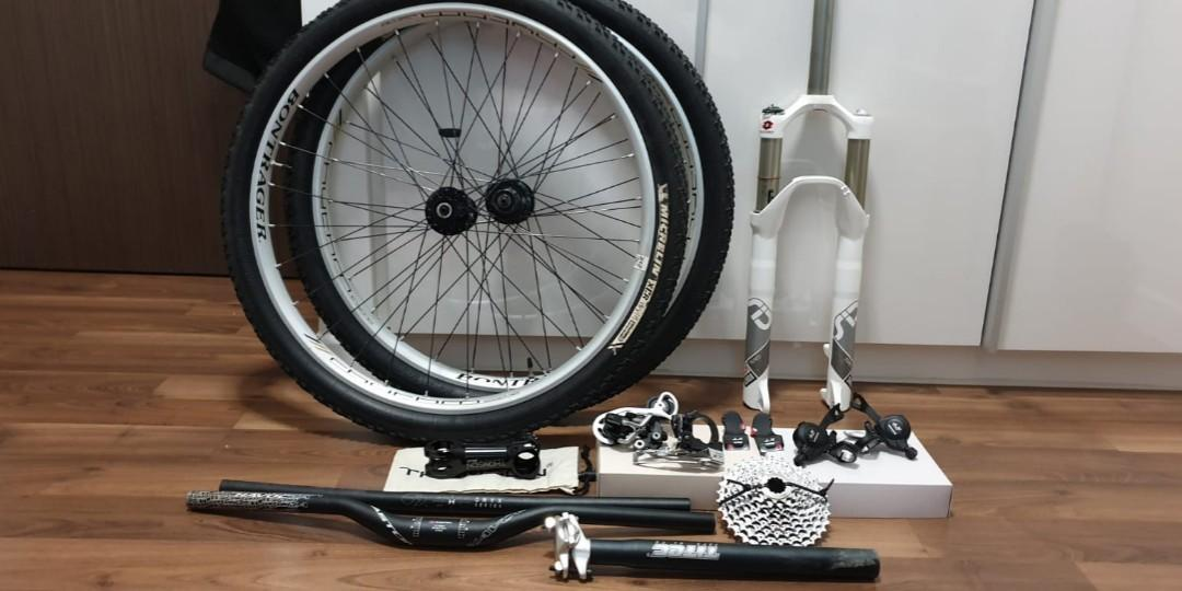 Mountain bike parts, Bicycles & PMDs, Bicycles, Mountain